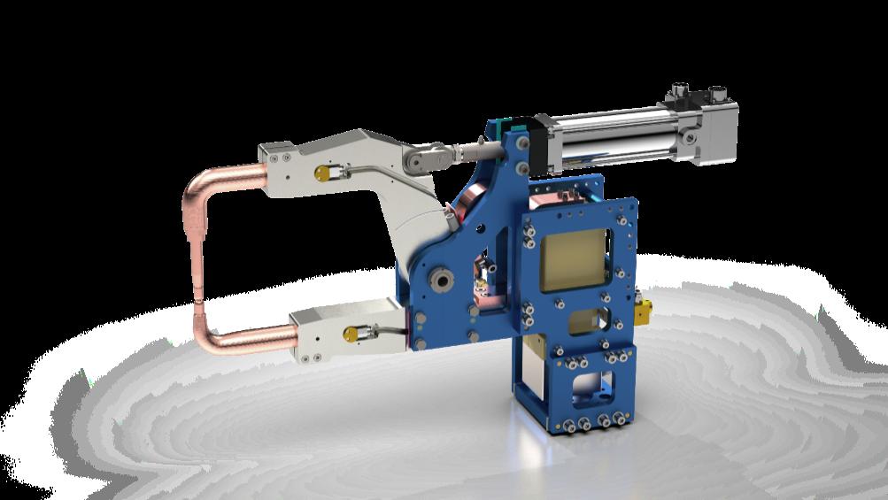 轻量化焊钳